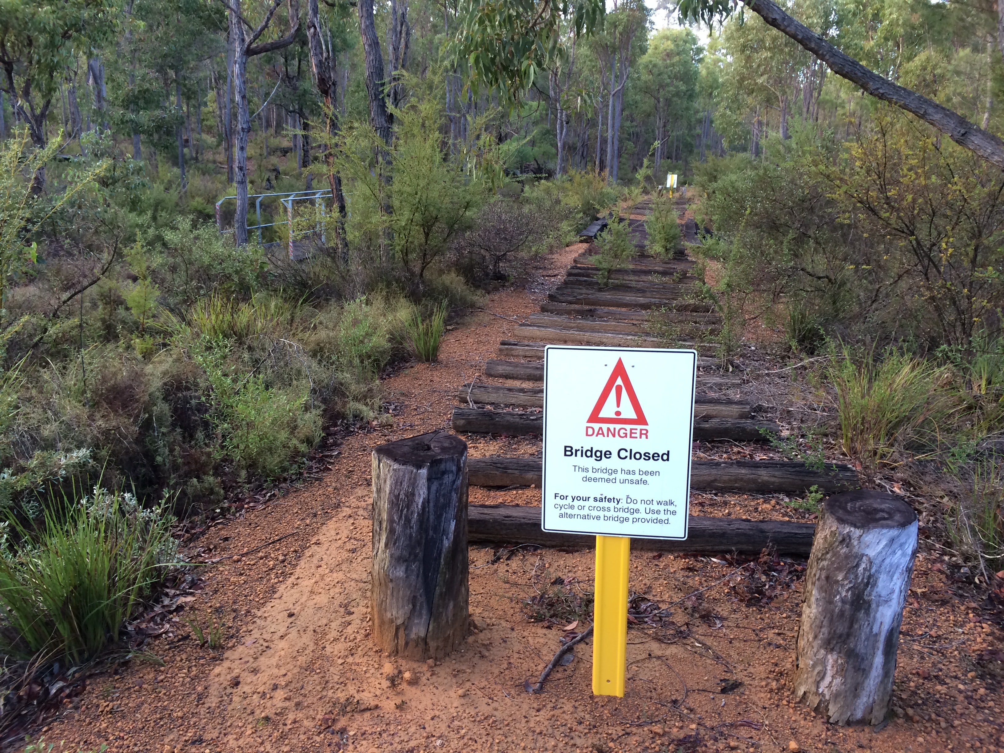 Sidings Trail near Jarrahwood