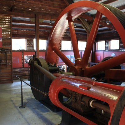Manjimup Timber Park - Steam engine