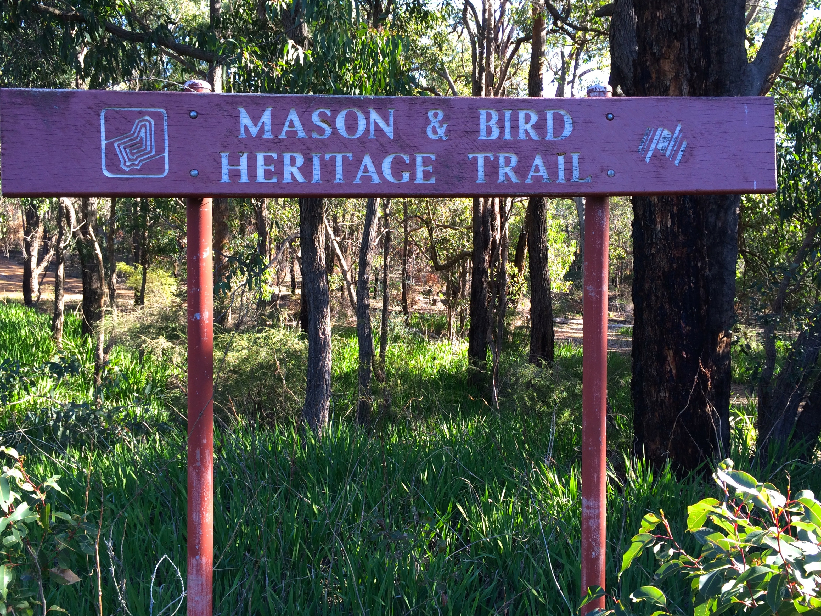 Mason & Bird Heritage Trail - start