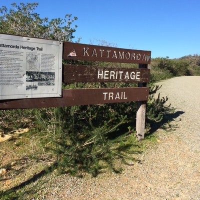 Kattamorda Heritage Trail sign
