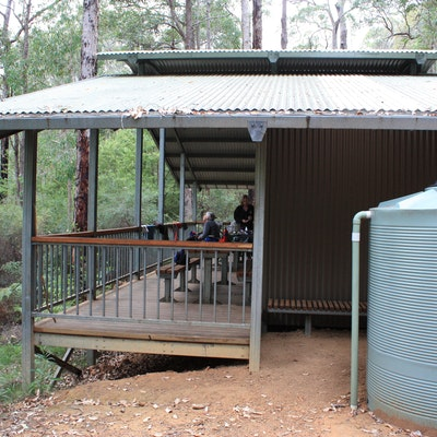 Yarri Hut and water tanks, Map 3
