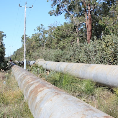 Goldfields Pipeline Mt Helena