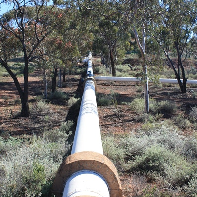 Goldfields Pipeline Mt Charlotte Reservoir