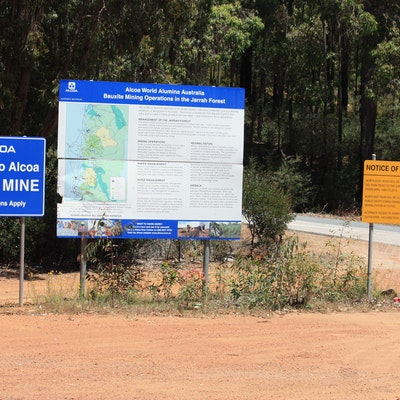 Huntley Mine Entrance, Near Dwellingup