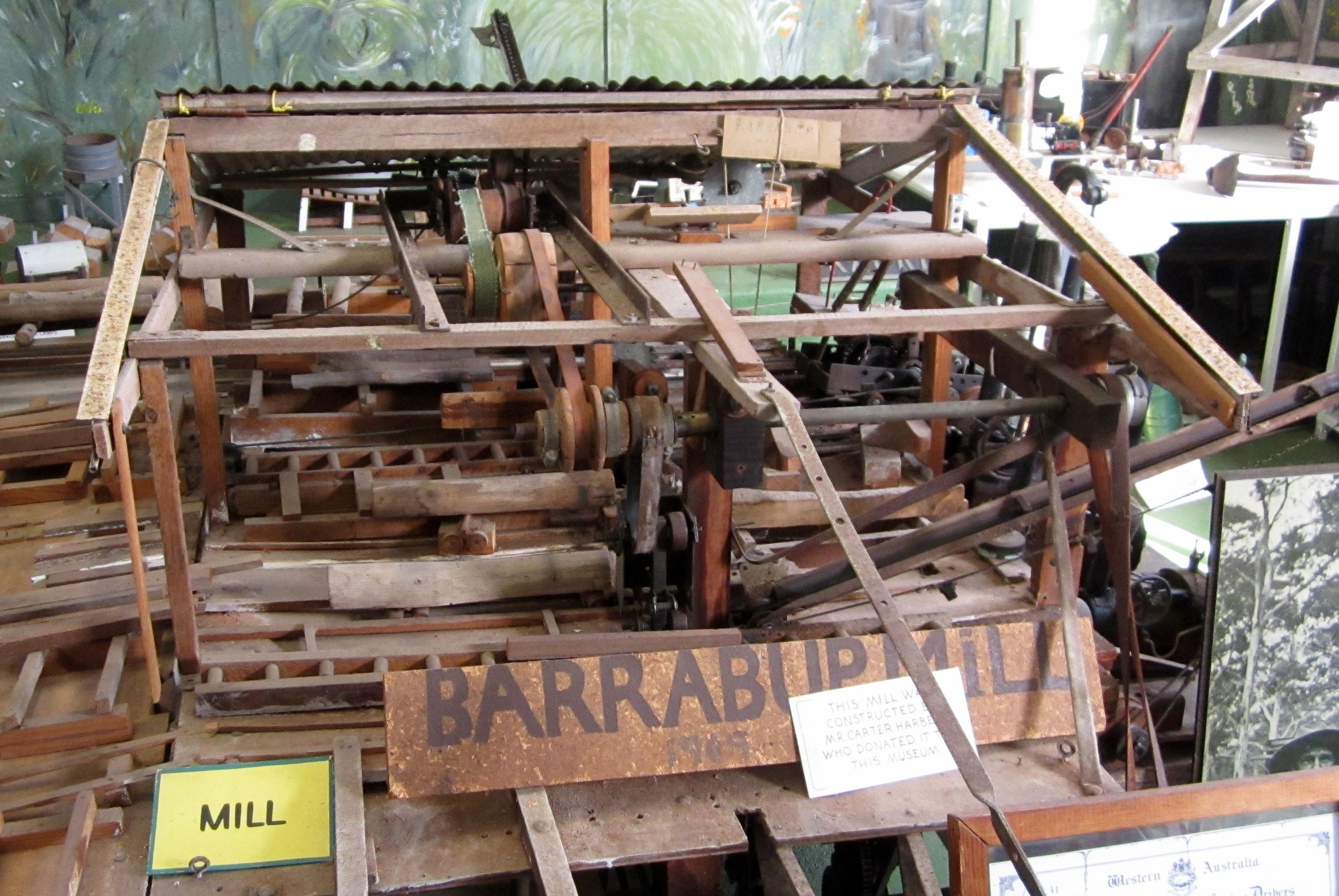Barrabup Mill model, Busselton Museum