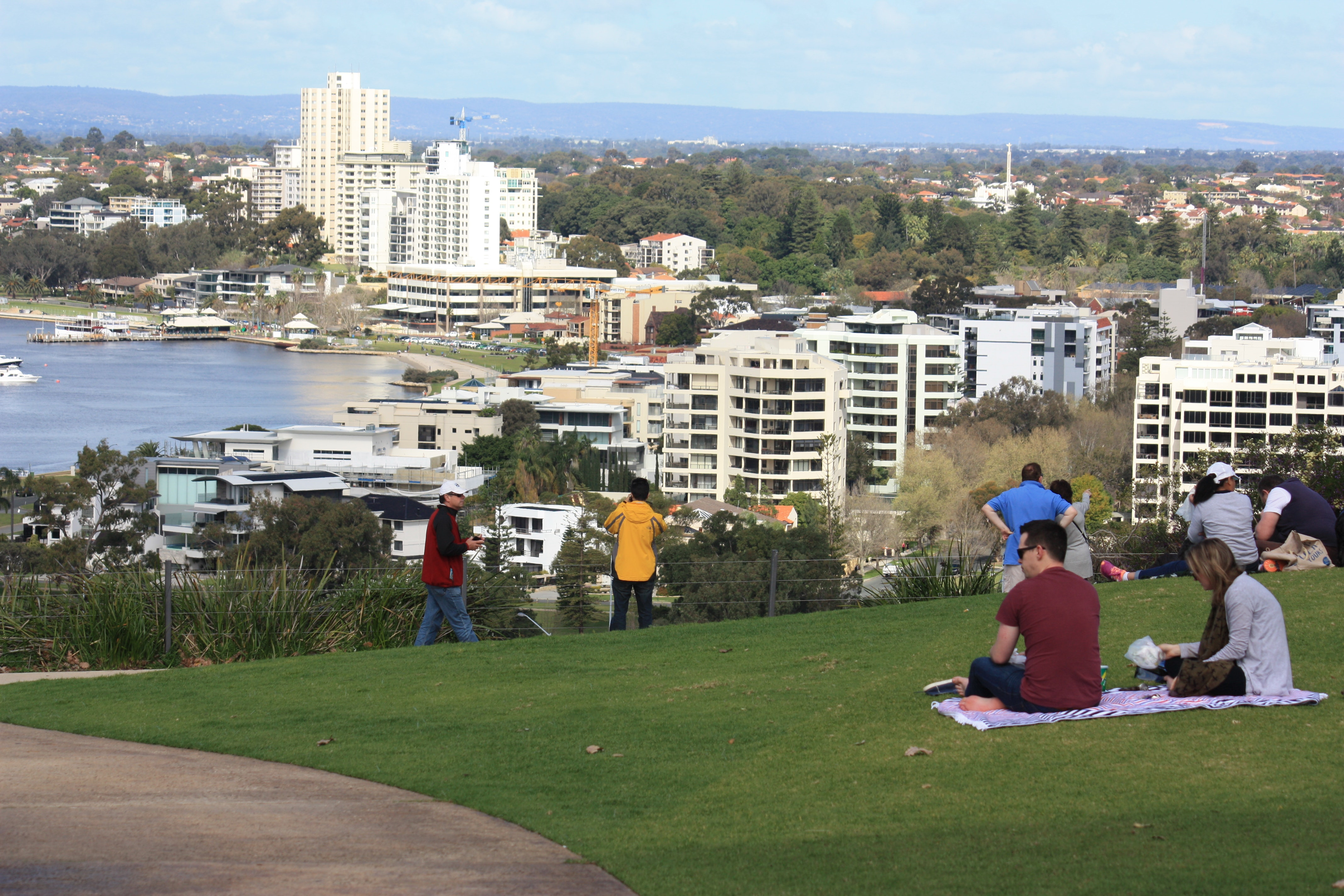 Kings Park View to South Perth