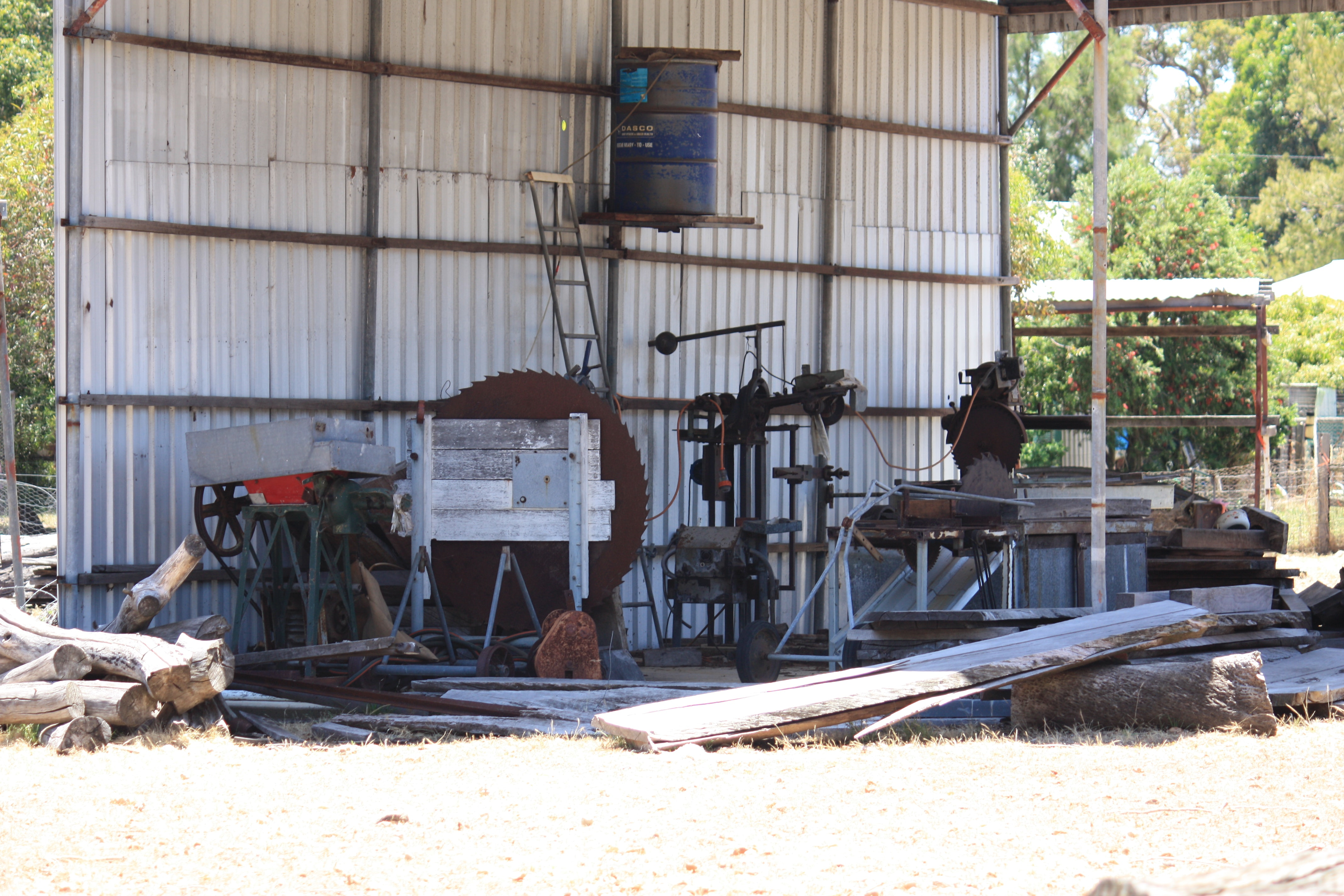Small private mill, near Pinjarra