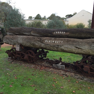 Timber display - Nannup