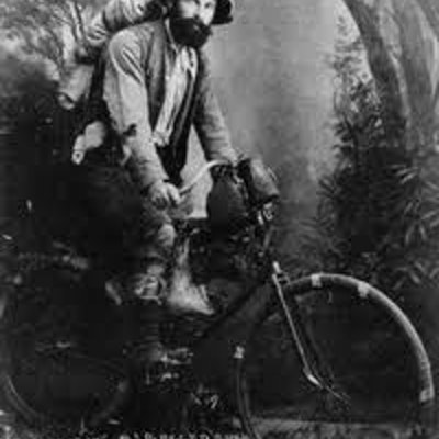 Bike packing from 1895 in W.A.
