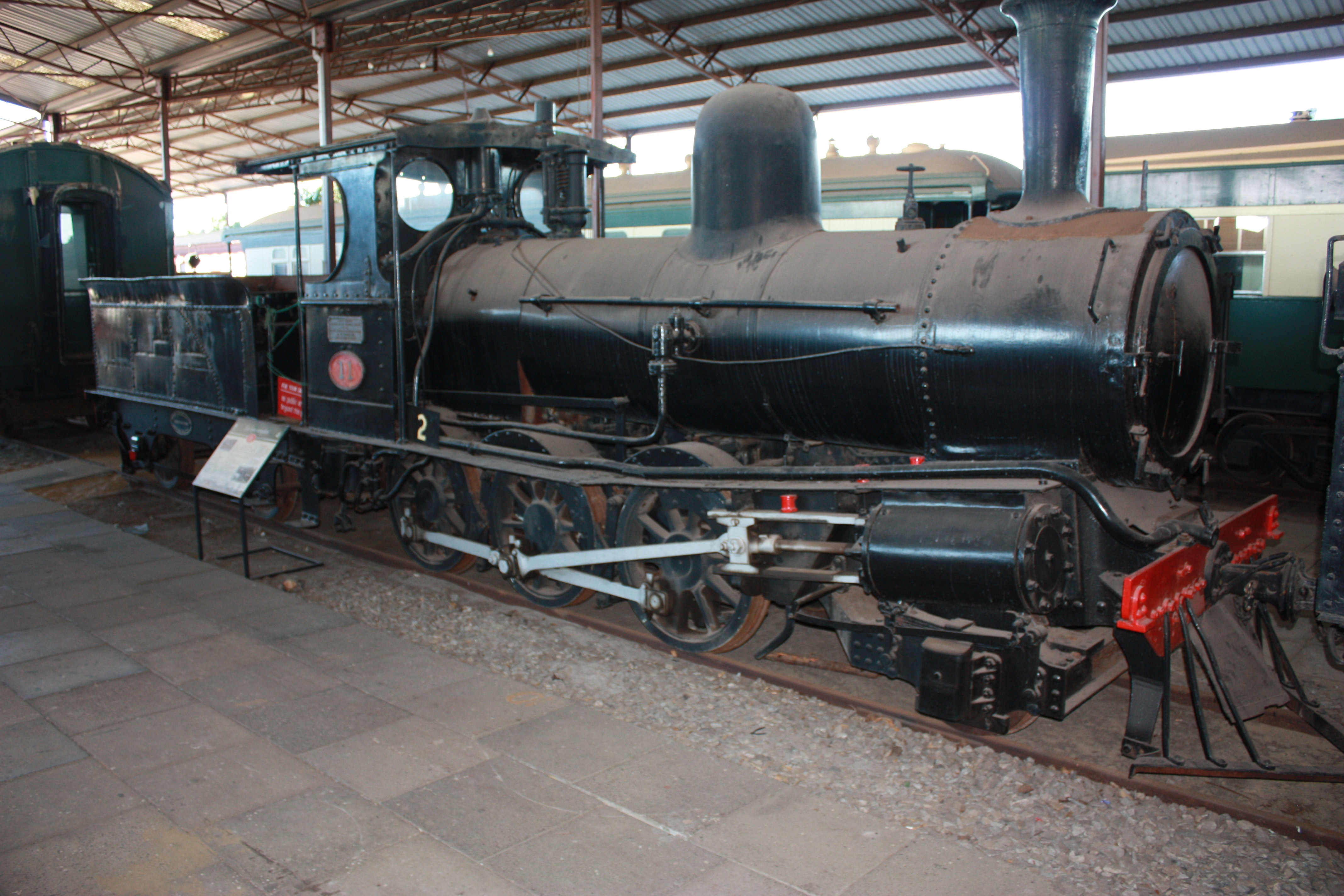 A11 at Bassendean Railway Museum