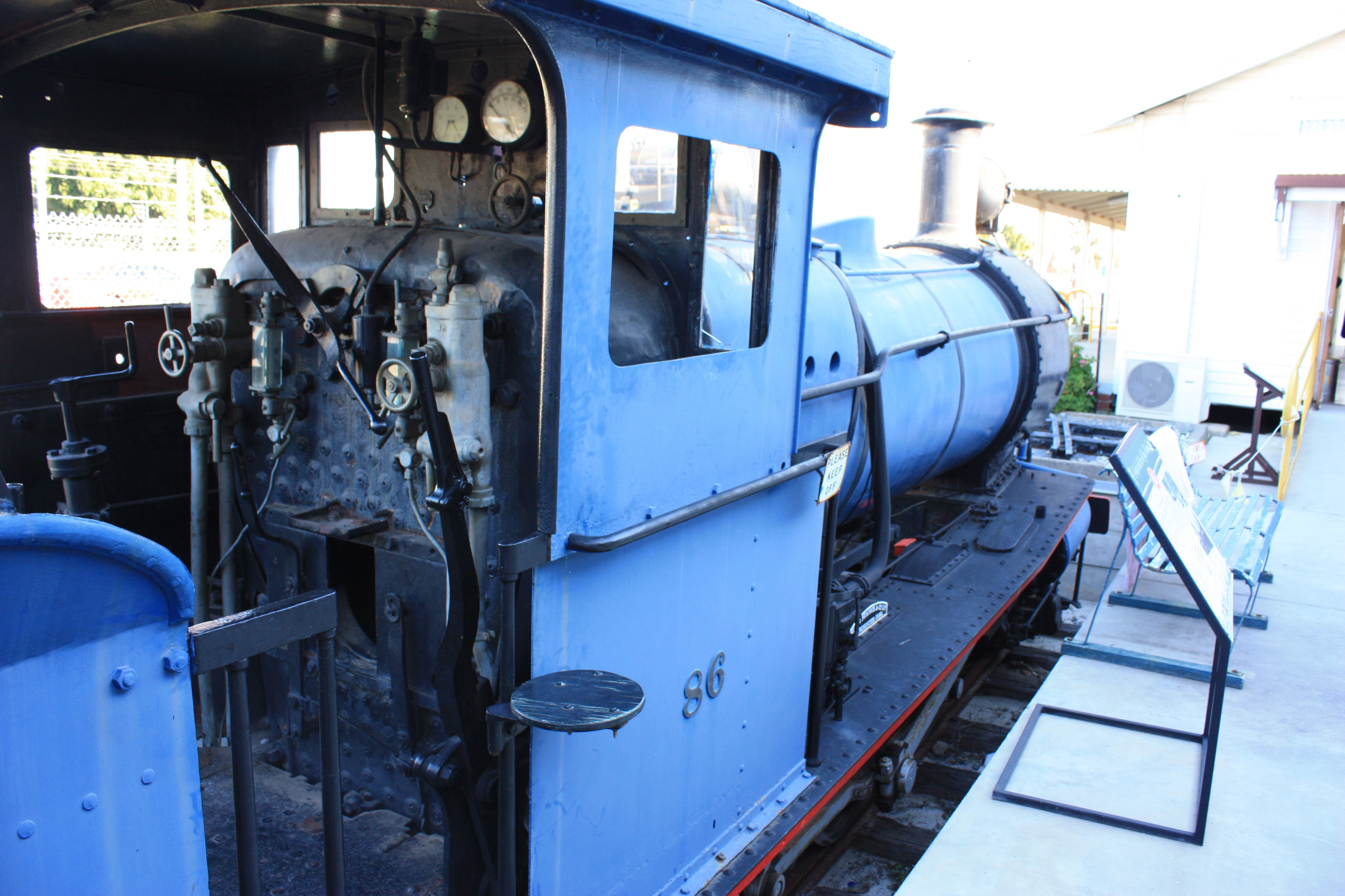 Yx86 at Bassendean Railway Museum