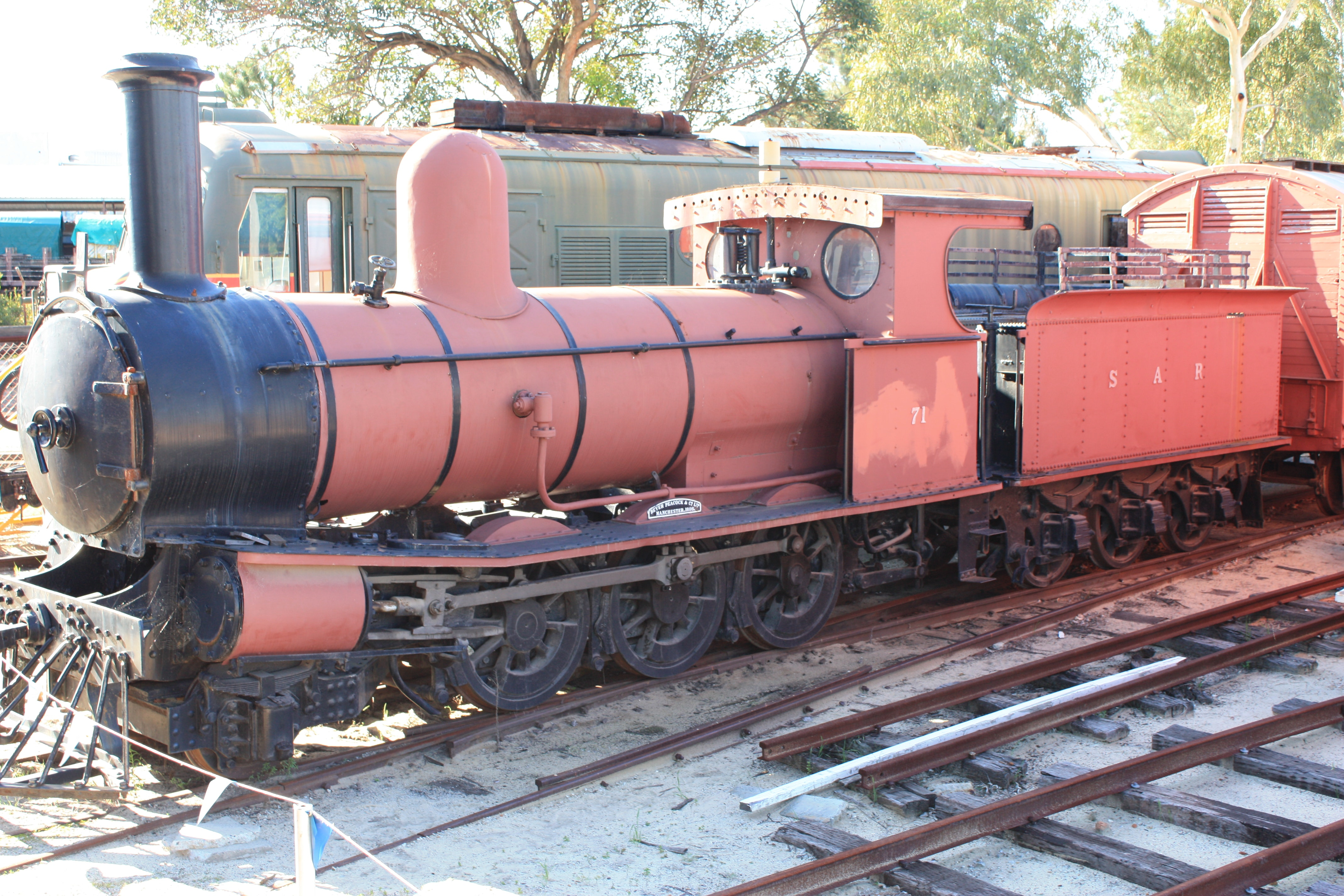 Y71 at Bassendean Railway Museum
