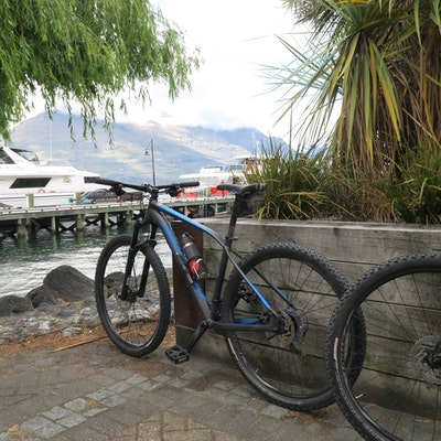 Starting trail in Queenstown