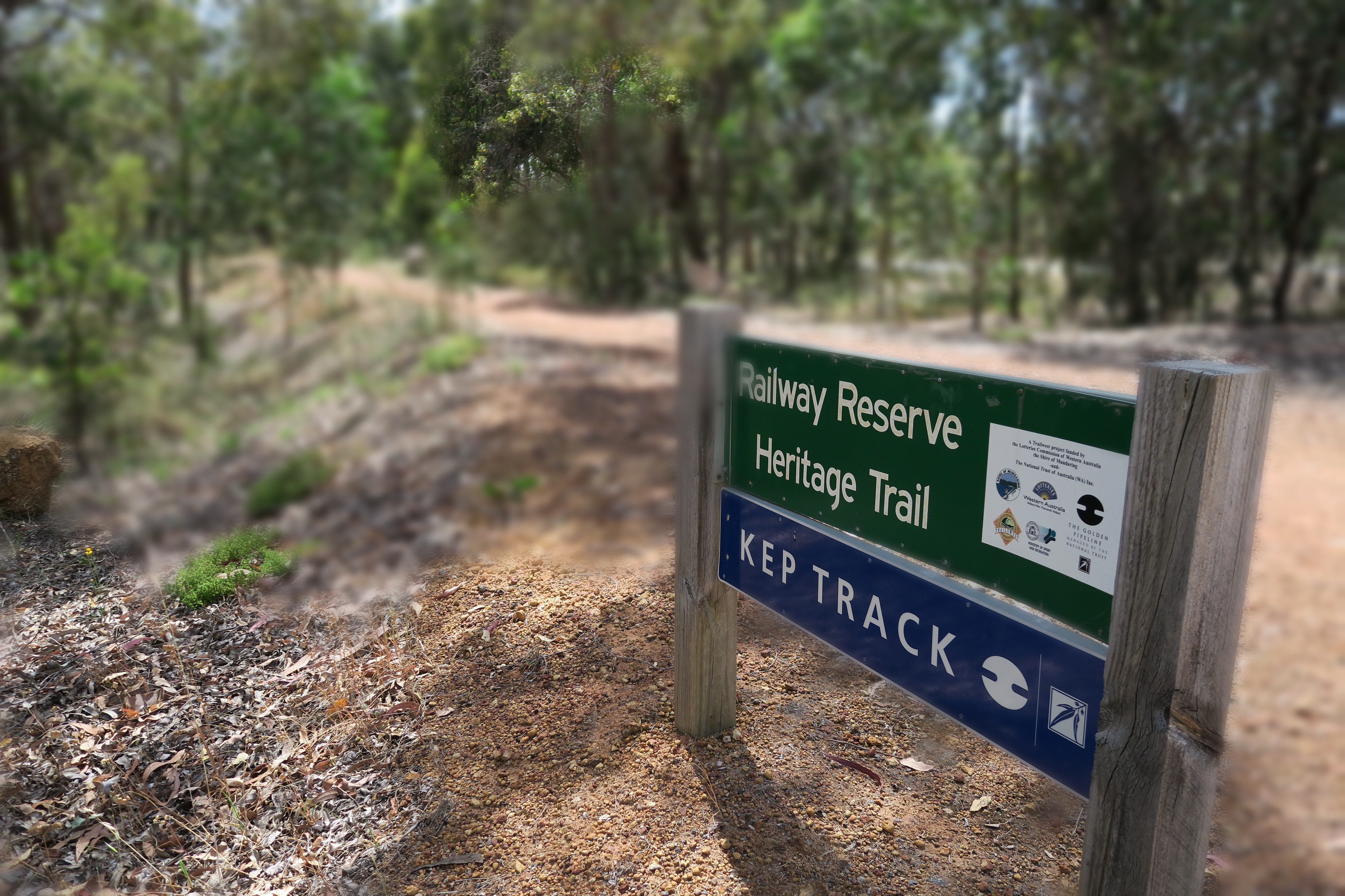 Railway Reserves Heritage Trail and Kep Track