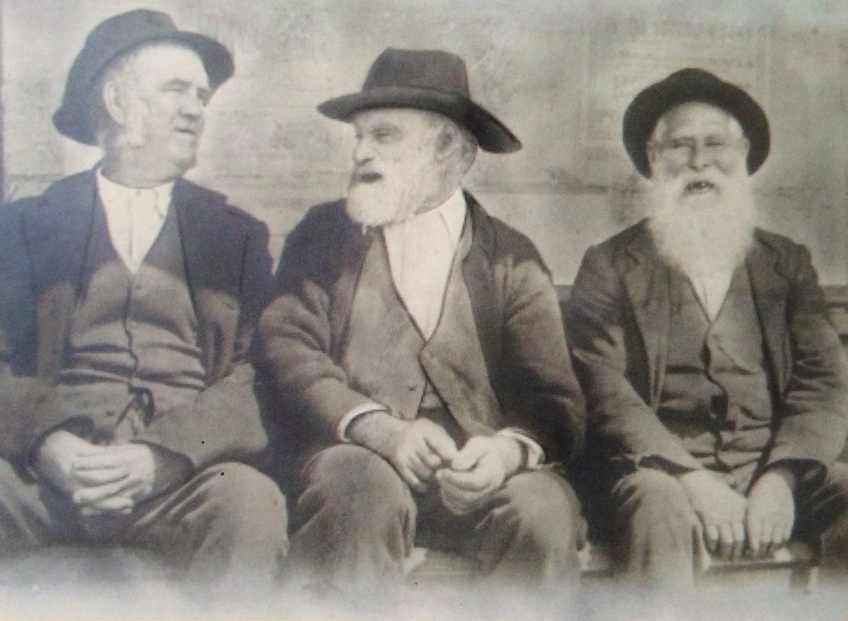 Three ex convicts 1898