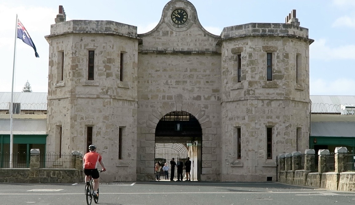 Fremantle Prison, completed in the 1850's by convicts