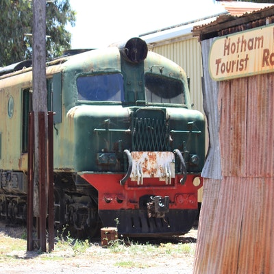 Hotham Valley Railway, Pinjarra