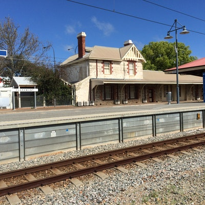 Claremont Train station