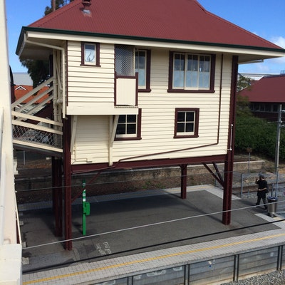 Signal box at Claremont Train station