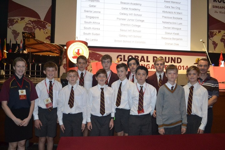 World Scholars Cup teams