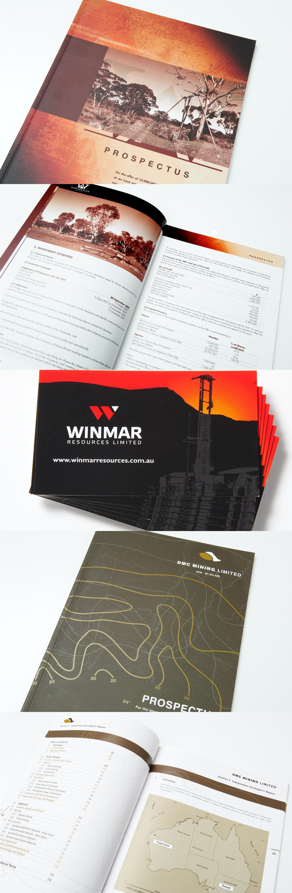 Mining Reports and Business Cards