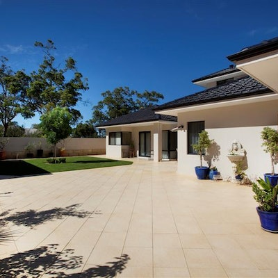 Sandstone Coral Pavers
