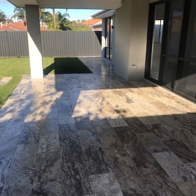 Ibiza Rectangle Travertine Pavers