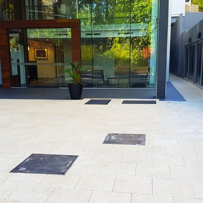 Sandstone Quartz Exposed Aggregate Pavers