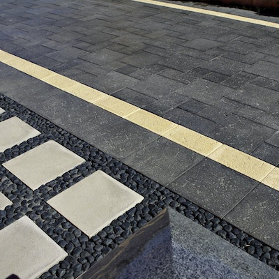 Charcoal Coral, Sandstone Coral Pavers