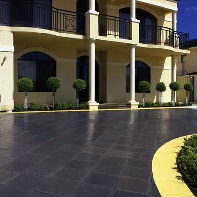 Charcoal & Sandstone Ridge Pavers