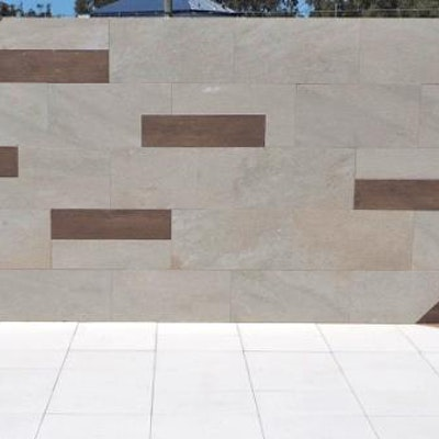 Jarrah & Bordeaux Wall cladding Perth