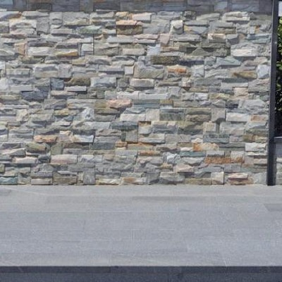 Knapped Ice Natural Wall Cladding Perth