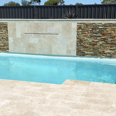 Roma Travertine Paving and Desert Wall Cladding
