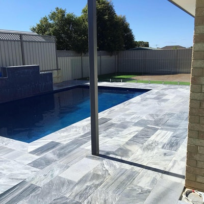 Stormstone Pool Paving