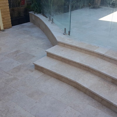 Roma Travertine Paving and Capping
