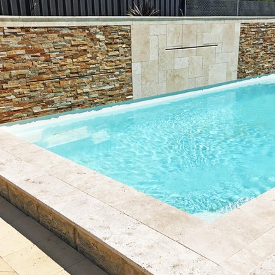 Roma French Travertine Pool Pavers