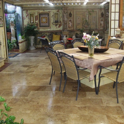 Arizona Travertine Rectangle Pavers
