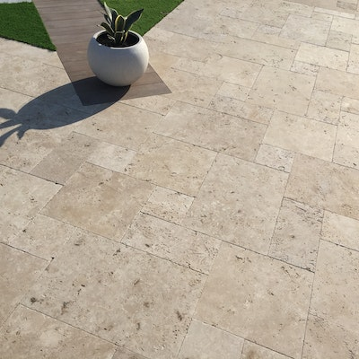 Roma Travertine Pavers