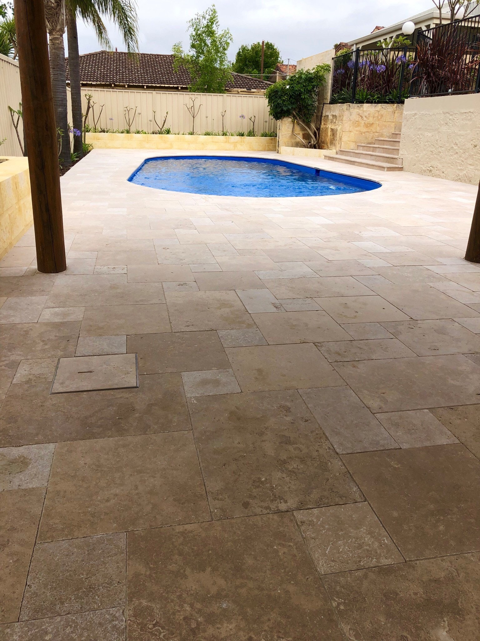 Cappuccino French Pattern Pavers