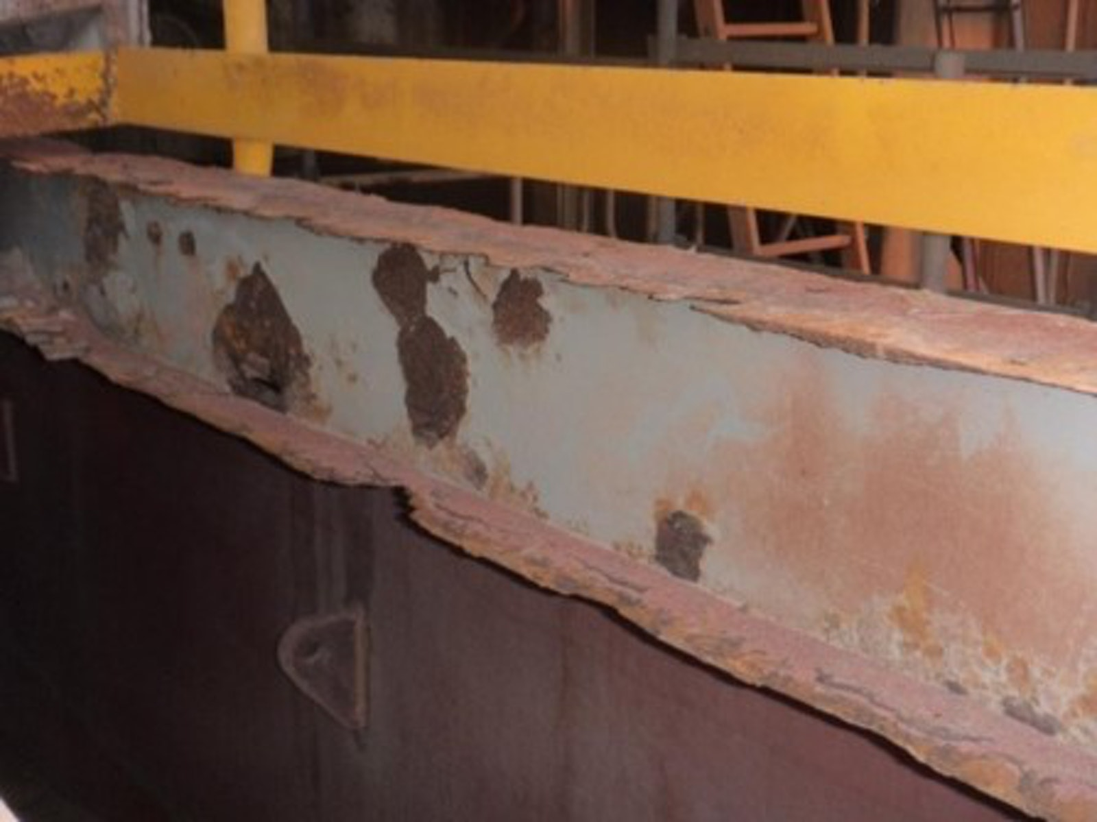 Iasgroup Structural Steel Strengthening Of I Beams On Mine