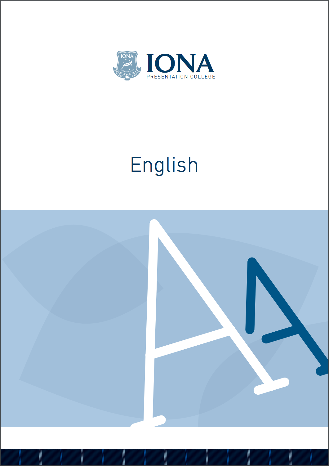 Read the English Learning Area Booklet 2017