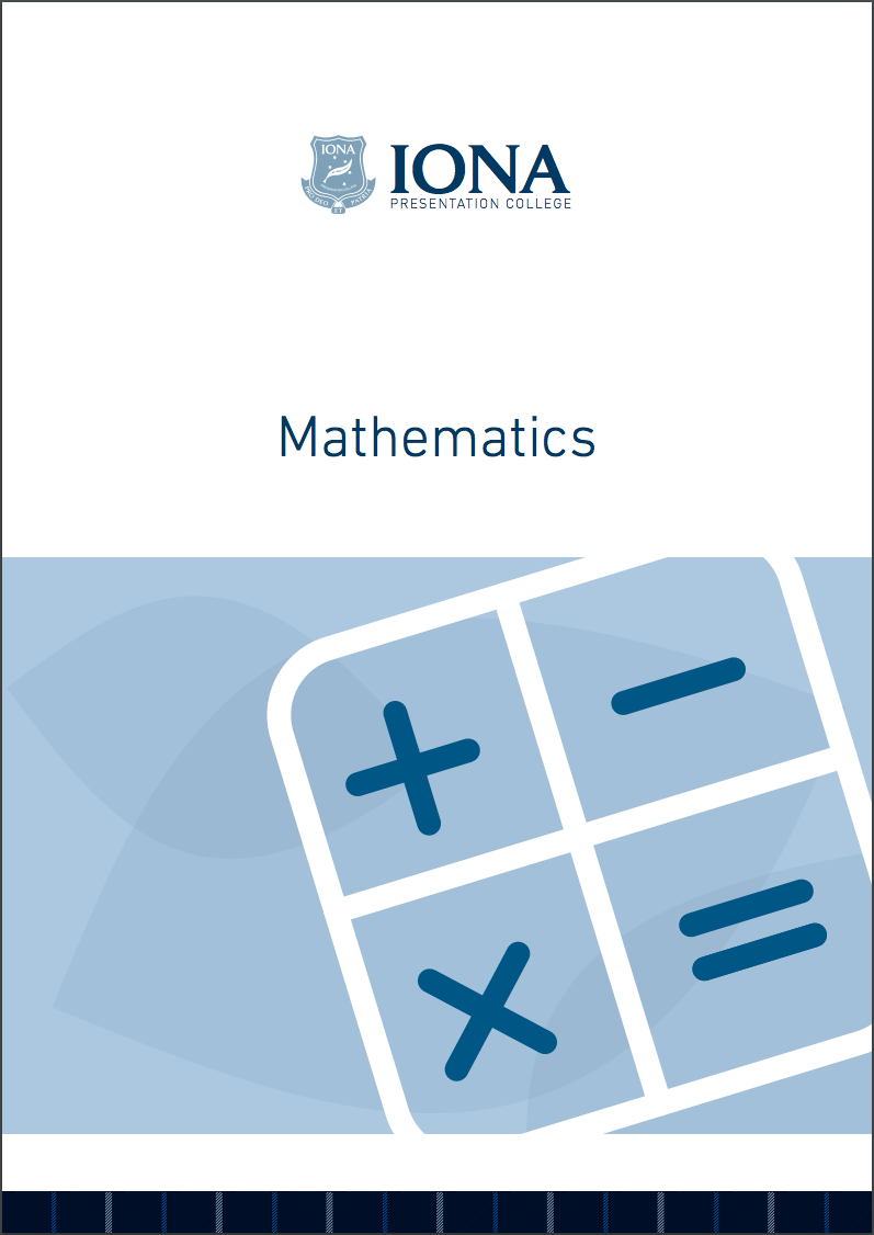 Read the Mathematics Learning Area Booklet 2017