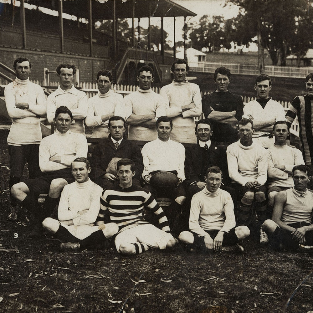 Old Scotch Collegians Football Team, circa 1900s