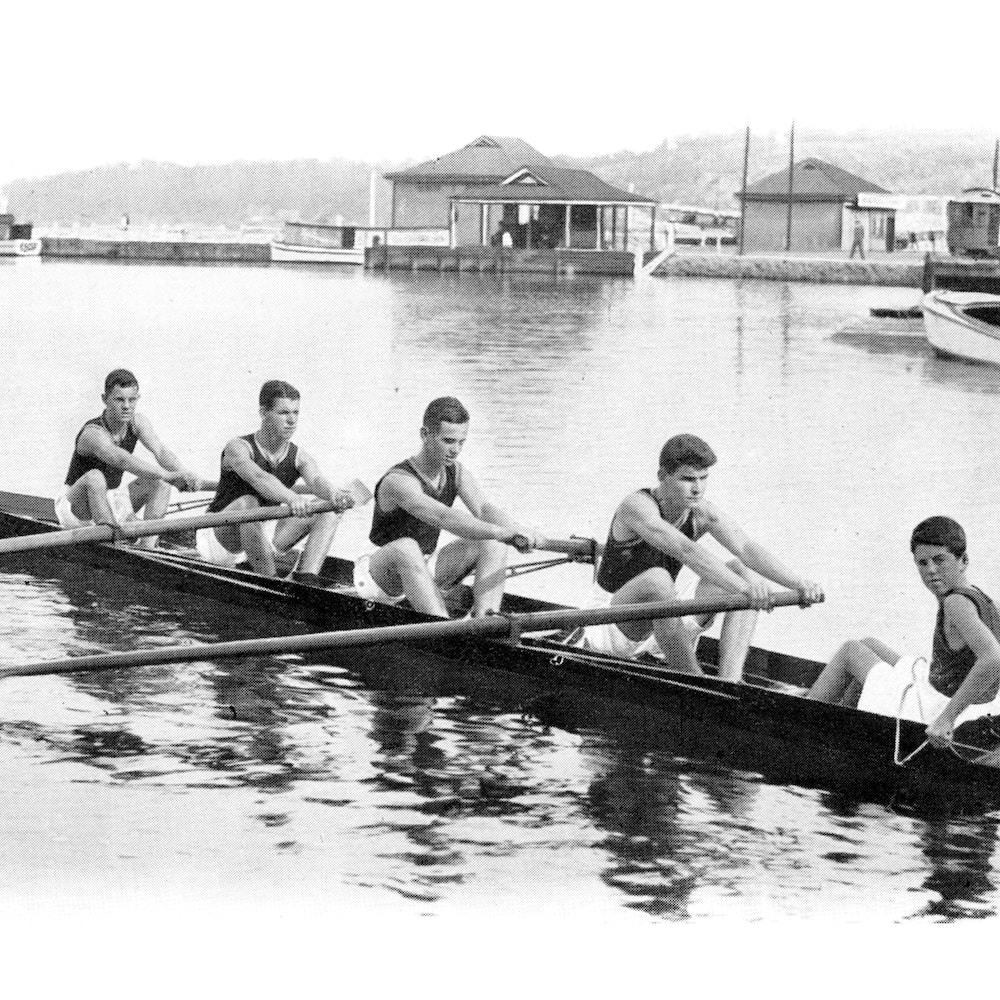 Scotch College rowers