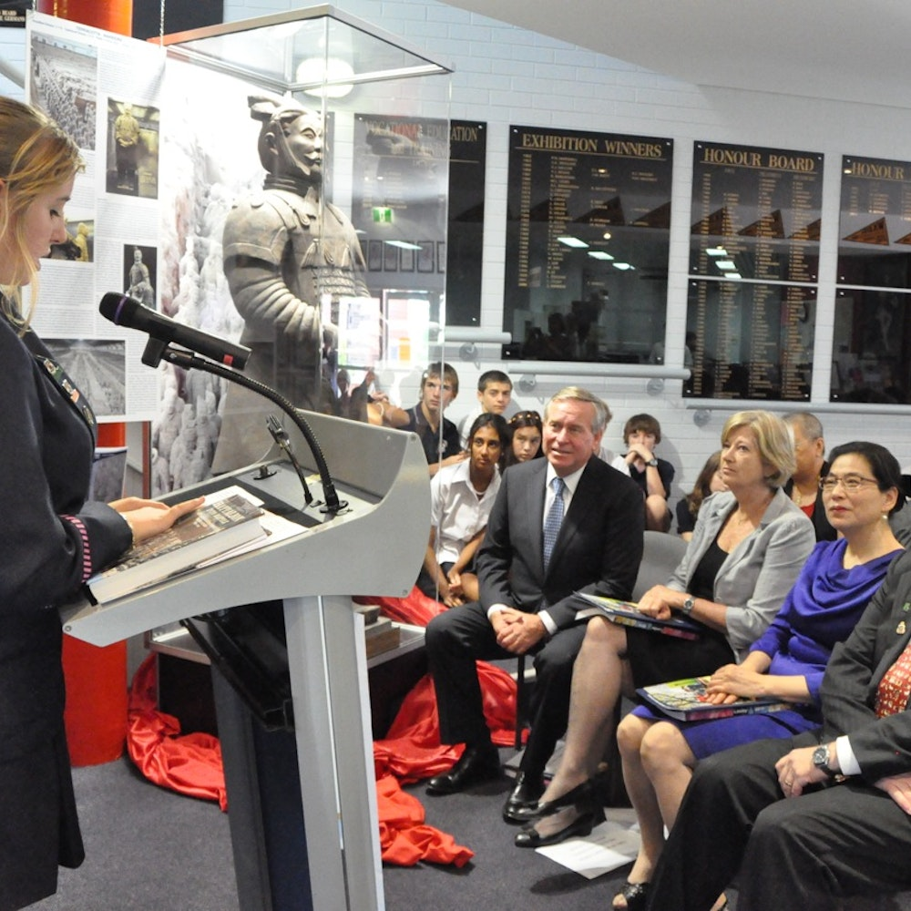 Unveiling of the Terracotta Warrior - 15/2/12