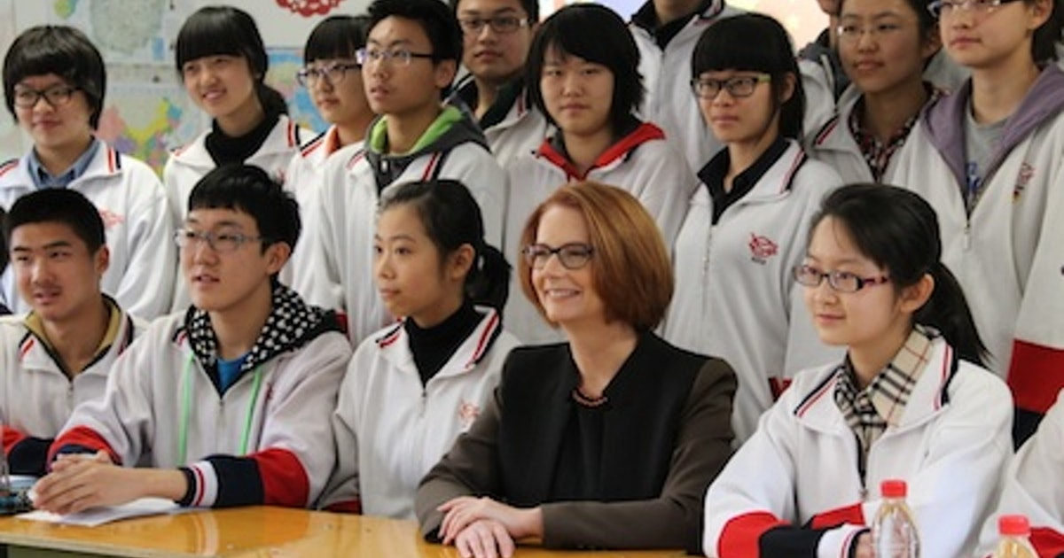 high schools in australia and china A chinese high school in hangzhou is using facial-recognition technology that scans students every 30 seconds the system is analyzing students' emotions and actions in the classroom as well as.