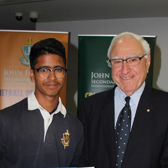 Most Outstanding Cricket Student Award