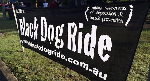 Black Dog Ride Banner