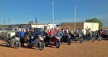 Black Dog Ride in Coober Pedy