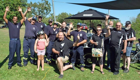 Black Dog Ride around Australia at the Jabiru Community Breakfast